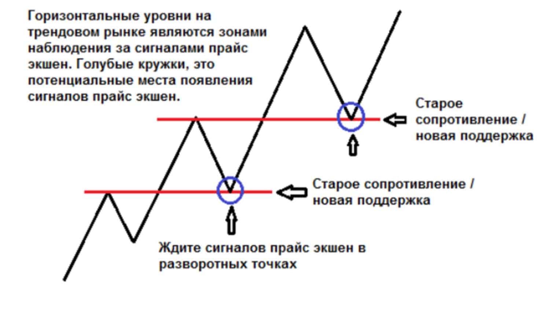 levels 01 Горизонтальные уровни и сигналы прайс экшен