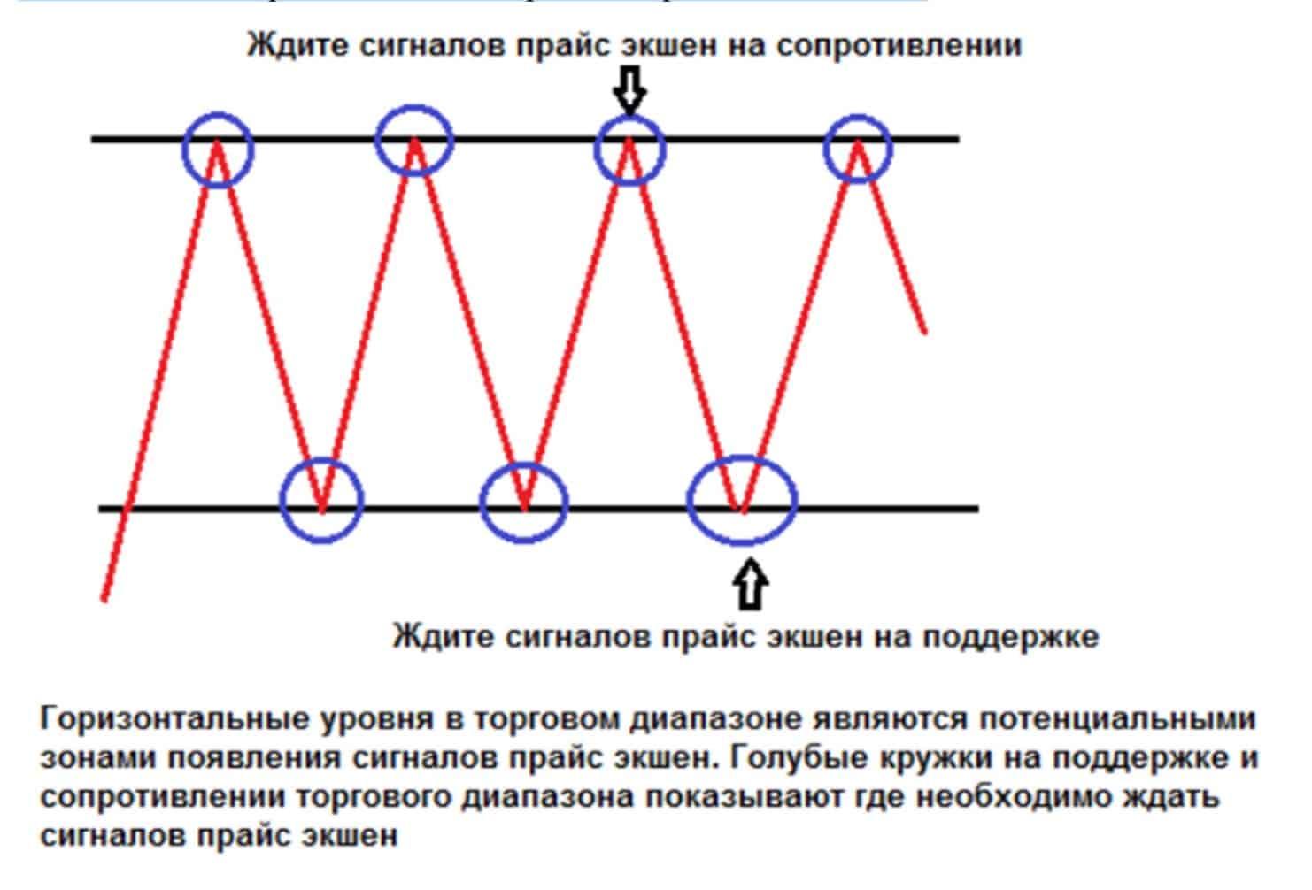 levels 02 Горизонтальные уровни и сигналы прайс экшен