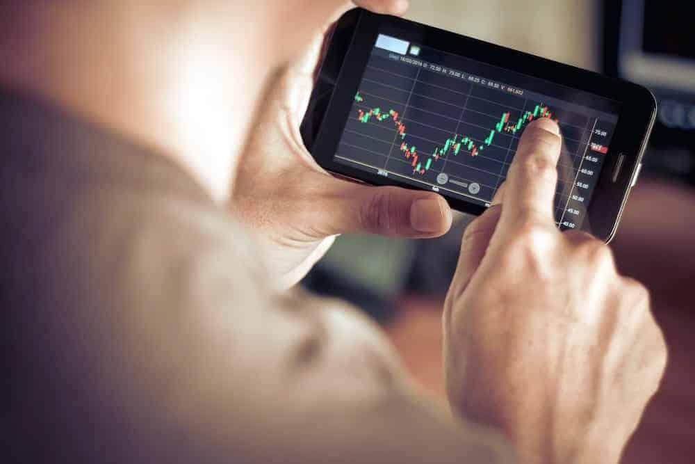мобильный трейдинг - смартфон