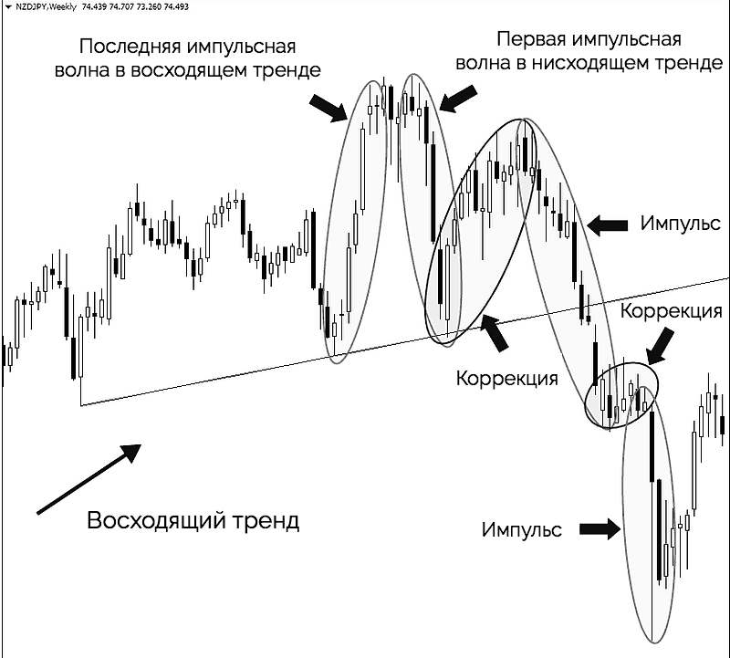коррекционные и импульсные волны