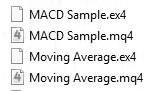mql4 - файлы mq4 и ex4