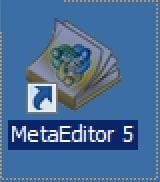 иконка MetaEditor на рабочем столе